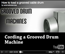 Loading (stringing) a grooved drum machine
