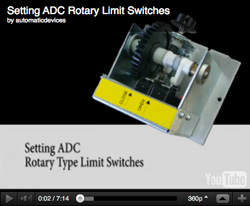 Rotary Limit Switch Setting